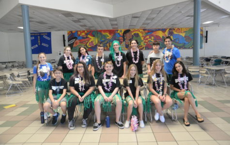 More than 50 groups of freshmen were lead by Thunder Force Link Crew members on tours to get to know the campus and be introduced to DV.